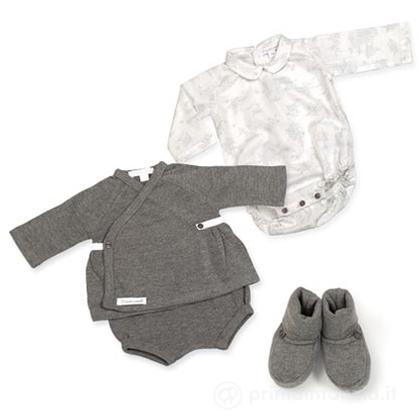 Set body + giacca + mutanda + scarpe 1 mese