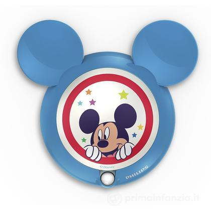 Lucina da notte LED con sensore Mickey Mouse