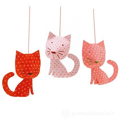 Decorazioni da appendere Perched cats