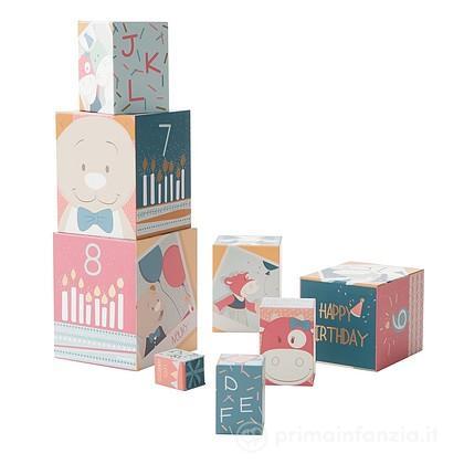 Cubi impilabili Compleanno