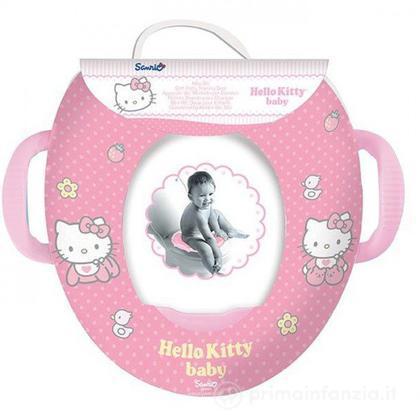 Riduttore WC morbido con maniglie Hello Kitty
