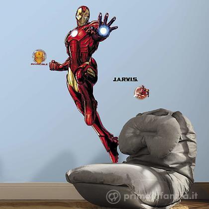 Adesivi murali rimovibili Iron Man Giant with Glow