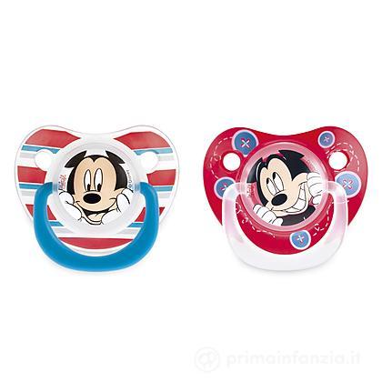 2 succhietti Disney Mickey silicone 6m
