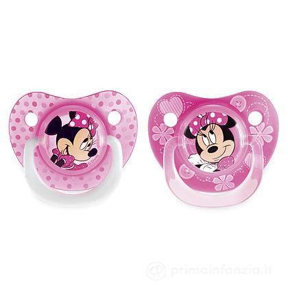 2 succhietti Disney Minnie silicone 6m