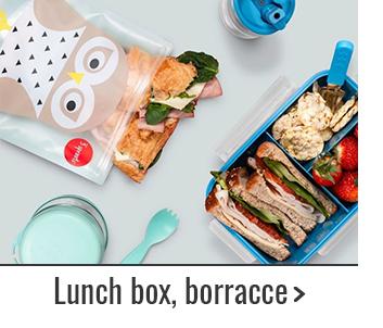 Lunch box, borracce